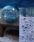 Christmas Gift Wrap 10YD Star Beads Garland Wire Wrap Roll Chain Decor Craft