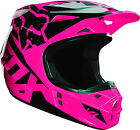 14400-170 Fox Helmet V1 Pink Race Adult Motorcycle MX ATV Off Road  Helmet