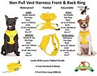 Padded Waterproof Adjustable Pet Puppy Dogs Non Pull Soft Vest Harness or Sets