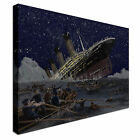 Sinking Titanic Canvas wall Art prints high quality great value