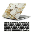 2in1 Marbled/ Silk Leather/ Matte Hard Case for MacBook Air Pro 11.6* 13* 13.3*