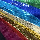 Crafts - Shiny Sequin Dot Confetti Fabric for Sewing Costumes Apparel Crafts by the Yard