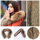 Hot Sale Women&Men Real Genuine Fur Collar Scarf/Shawl/Down Jacket Collar