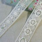 """Vintage Style Double Edged Embriodered Tulle Lace Trim 1.8""""(4.5cm) Wide 1Yd"""