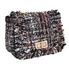 BMC Womens Cute Woven Style Texture Mini Clutch Handbag Purse