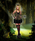 Sexy Dreamgirl Adult Women's Halloween Purr-Fect for You Kitty Cat Costume