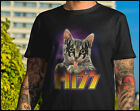 Hiss Shirt Kiss Cat Shirt Rock N Roll Gene Paul Ace Kitten Classic Funny Tee