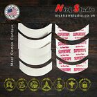 STRONG WIG TAPE SUPERTAPE CONTOUR CC STRIPS, PACK OF 50 STRIPE - UK DISPATCH