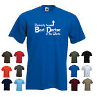 'Probably the Best Doctor in the World' Funny Men's Doctor T-shirt
