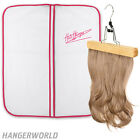 Hangerworld Showerproof Wig / Hair Extension Cover Travel Carrier with Hanger