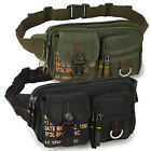 Men's Sport Military Fanny Pack Waist bag Belt bum sling outdoor travel Nylon