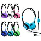 Urbanz Vibe Childrens Headphones |  Kids Girls Boy Small Earphones for iPad iPod