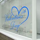 Valentines Day Heart NEW Window Stickers Decals Shop Window Display Love A335