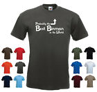 'Probably the Best Binman in the World' Funny Men's Dustbin Refuse Gift T-shirt