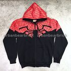 LICENSED* MARVEL COMICS THE AMAZING SPIDER-MAN HOODIE Navy Blue Polyester Cotton