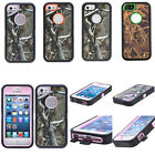 Hot Shockproof Dirtproof Tree Grass Forest Camo Case Cover For iPhone 4 4S 5 5S