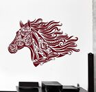 Wall Vinyl Decal Horse Animal Pattern Nature Talisman Amulet Amazing Decor z3913