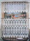 "Venise Lace Valance/Tier/Cafe Curtain~36""*12""/16""/24""~White/Beige~Romantic Life~"