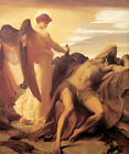 Elijah in the Wilderness by Frederic, Lord Leighton (Classic Biblical Art Print)