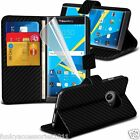 Leather Book Wallet Phone Case Cover✔Pen✔SP for Blackberry Priv