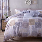 Catherine Lansfield Home A Timely Reminder Duvet Cover Set New