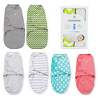 2 PACK Summer Infant Swaddle Me Swaddling blanket swaddleme wrap Small 0-3 Month