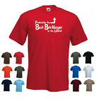 'Probably the Best Bricklayer in the World' Funny Builder Men's T-shirt