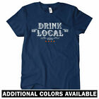 Drink Local Chicago Women's T-shirt - Bar Bartender Craft Beer Brewery  S to 2XL