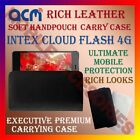 ACM-RICH LEATHER SOFT CASE for INTEX CLOUD FLASH 4G MOBILE HANDPOUCH COVER NEW