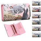 Ladies Marilyn Monroe New York Faux Leather Purse Wallet Clutch - Boxed M04A-18
