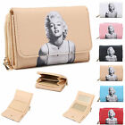 Ladies Iconic Marilyn Monroe Faux Leather Purse Wallet Clutch Bag Boxed M095-168