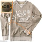 NWT Hugo Boss Orange by Hugo Boss Cotton Blend Sweatshirts In Gray