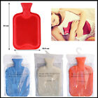 Large Hot Water Bottle Fleece Cover Bags Quality Rubber 2 Litre British Standard