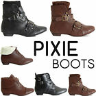 LADIES WOMENS CHELSEA FLAT GRIP SOLE BLOCK HEEL FUR LINED ANKLE BOOTS SHOES SIZE