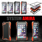 NEW SHOCKPROOF WATERPROOF ALUMINUM GORILLA METAL CASE COVER FOR GALAXY NOTE 4 S6