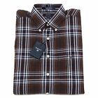 5239N camicia GANT camicie uomo shirt men marrone