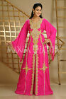 NEW FANCY DUBAI KAFTAN MAXI DRESS JILBAB JALABIYA THOBE WEDDING GOWN 3559
