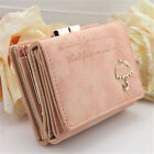 Fashion Women's Leather Wallet Button Clutch Purse Lady Short Handbag Us Stock