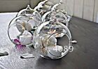 Clear Glass Memory Ball Tealight Candle Holder Vase Wedding Bauble wholesale