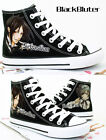 Kuroshitsuji Hand Painted Cosplay Canvas Shoes Black Butler Ceil Black Sneakers
