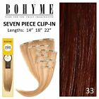 bohyme clip in hair extensions - Bohyme 7 Piece Clip-in Hair Extension Color 33