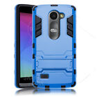 Shockproof Hybrid Dual Layer Protect Hard KickStand Case For LG Leon 4G LTE C40