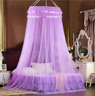 Lace Mosquito Net Canopy Bites Protect For King Queen Double Single Size