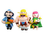 "12"" Game Clash Of Clans Figure Barbarian Wizard Archer Plush Toy Soft Doll Gift"