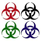 Bio-hazard Sticker Buy 1 Get 1 Free Every Quantity Biohazard Symbol Decal