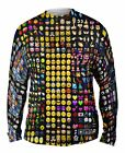 Yizzam- Emoji Party Jumbo - New Mens Long Sleeve Tee Shirt XS S M L XL 2XL 3XL