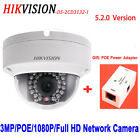 Multi-language Network CCTV Cmera Hikvision 3mp POE IP Full HD DS-2CD3132-I