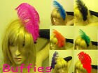 Feather Hair Clip Moulin Rouge Show Burlesque Feather Hair Clips Showgirl
