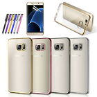 Slim Transparent Crystal Clear Soft TPU Case Cover For Samsung Galaxy s7 S7 Edge