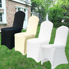 1 4 10 50 100 Chair Covers Dining Room Stretch Spandex Seat Wedding Flat Arched